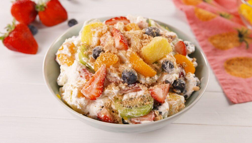 Salad buah Malang